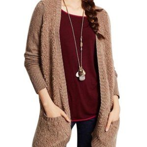 Anthropologie Sleeping on Snow Draped Cardigan